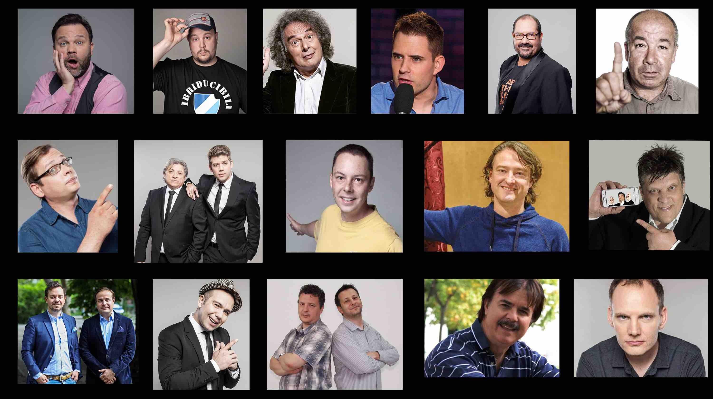 Stand Up Comedy humoristák