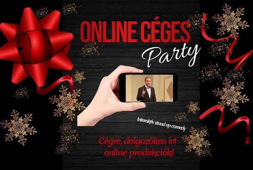 Online stream műsorok céges rendezvényre
